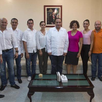 """Se reúne Borge con diputados del PRI-PVEM y les da línea para """"mantener la unidad y promover un verdadero debate republicano"""""""