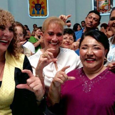 """Magaly Achach, ex Alcaldesa que dijo que """"chingue a su madre"""" el que no vote por Mauricio, se pasa al barco joaquinista"""