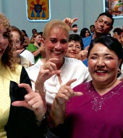 """""""PERDIERON POR INEPTOS"""": Magali Achach se pone al brinco y le revira a 'Ray'; niega 'coquetear' con el joaquinismo"""