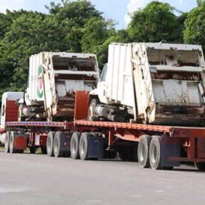 CAÓTICO CIERRE DE GOBIERNO: A 20 días del cambio de Alcalde, en Solidaridad se llevan patrullas y ahora también camiones de basura