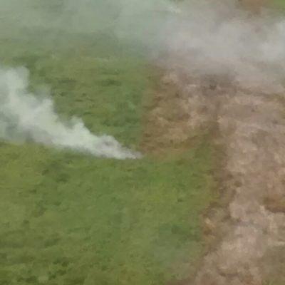 Decretarían veda de 20 años para terrenos siniestrados en Holbox si se confirma incendio intencional