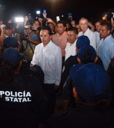 COMIENZA UNA NUEVA ERA PARA QR: Ante Carlos Joaquín, Rodolfo del Ángel toma las riendas de Seguridad Pública