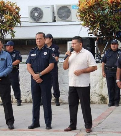 PRIMEROS CAMBIOS EN SEGURIDAD PÚBLICA: Nombran a José Eliezer Varela como nuevo comisionado de la Policía Estatal Preventiva