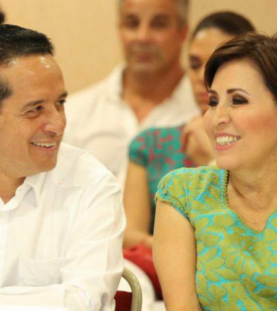 Realiza Carlos Joaquín primera gira de trabajo en Cozumel junto a la secretaria Rosario Robles