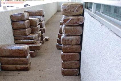 DECOMISAN 200 KILOS DE MARIHUANA: Fuerte golpe al narco en Villas Oxtankah en Chetumal