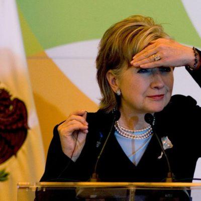 HILLARY DEJA 'COLGADO' A PEÑA: Rechaza la candidata demócrata en EU reunirse con Presidente mexicano