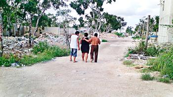 Reporta mujer violación por su propio esposo en fraccionamiento invadido de Playa; policía se niega a actuar