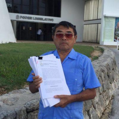 PRIMERA PRUEBA PARA EL NUEVO CONGRESO: Presentan demanda de juicio político contra el alcalde Juan Parra de José María Morelos