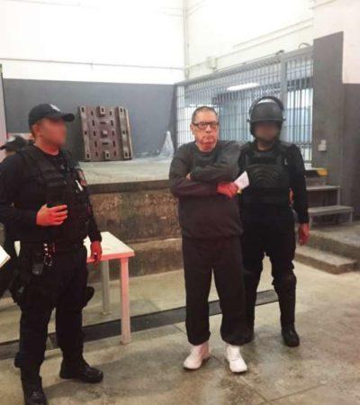 Difunden primeras imágenes en 30 años de 'Don Neto', el 'capo de capos' que a sus 85 años cumple sentencia en su domicilio