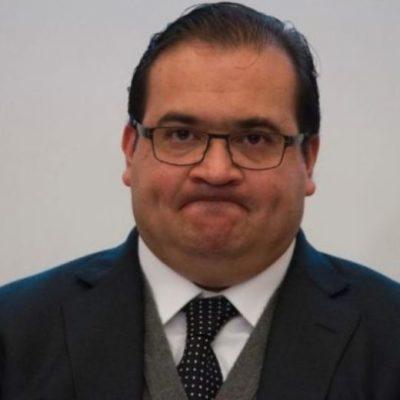Dice Yunes Linares que Duarte ya huyó de Veracruz en un helicóptero del gobierno estatal