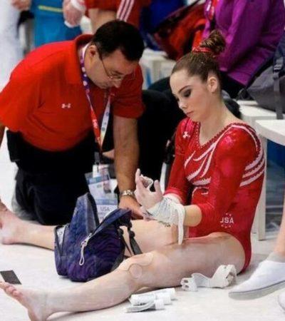 Denuncian por acoso sexual a ex médico del equipo olímpico de gimnasia de EU
