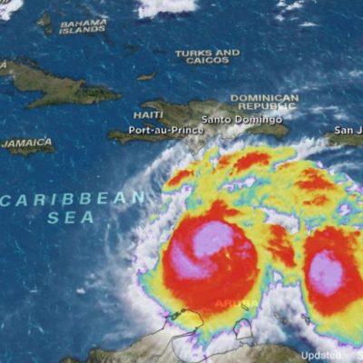 'MATTHEW' SE VUELVE MUY PELIGROSO: Aumenta fuerza de huracán en el Caribe y ya es categoría 5