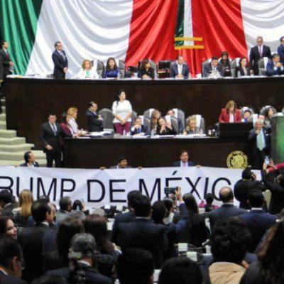 """""""TENEMOS UN PRESIDENTE INCOMPETENTE"""": Rechazo a Peña Nieto en el Congreso apuntalado por la reunión con Trump"""