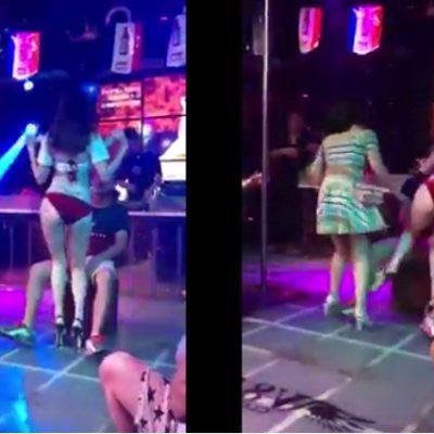 VIRAL | Novia celosa baja del escenario a su pareja cuando una chica le iba a realizar el baile erótico de sus sueños