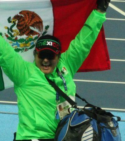 Da primer oro a México María de los Ángeles Ortiz en Juegos Paralímpicos de Río 2016