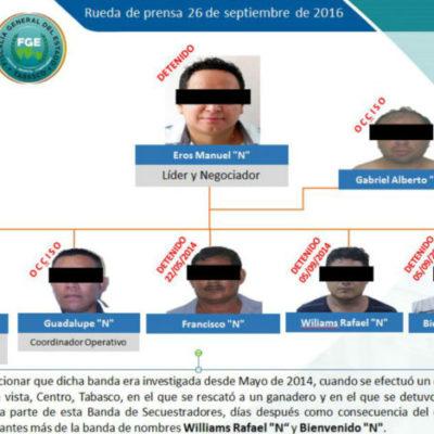 CAEN SECUESTRADORES EN TABASCO: Desmantelan banda implicada en al menos 16 plagios en Villahermosa