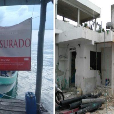 NO TRAMITARON PERMISOS: Confirma Profepa clausura de obras en un muelle atribuidas a la familia de Borge en Isla Mujeres