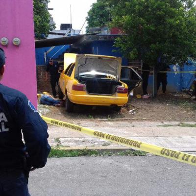 """""""CINCO DETONACIONES SE ESCUCHARON"""": Ejecutan a balazos a un taxista en Villahermosa"""