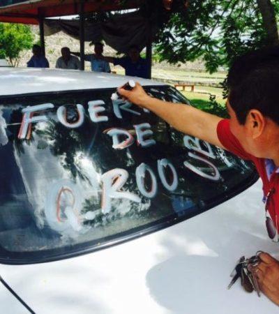 HACEN 'MOLOCH' CONTRA UBER: Alistan taxistas de 5 estados marcha contra empresa privada de taxis