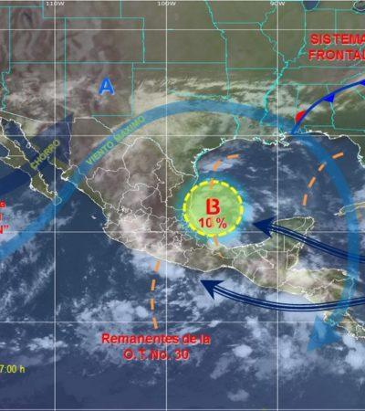 Advierten sobre desarrollo de una 'tormenta perfecta' con 3 sistemas hidrometeorológicos en el país