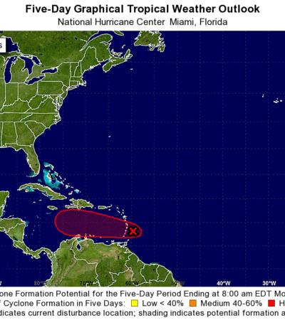 ALERTA EN EL CARIBE: Se forma la tormenta tropical 'Matthew' en el Atlántico con trayectoria de riesgo