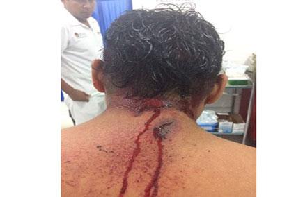 Pistoleros golpean y balean a 4 personas en la entrada de un cenote en Tulum