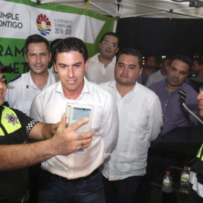 ¡SE ACABÓ LA FIESTA!: Tras un breve receso, reinstalan el alcoholímetro en Cancún