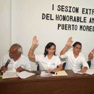 Adecua Cabildo de Puerto Morelos reglamentos a la nueva estructura organizacional del municipio