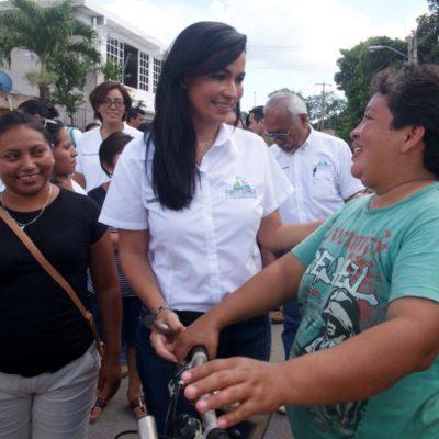 Entregará Laura Fernández patrullas y equipo a Seguridad Pública y Tránsito
