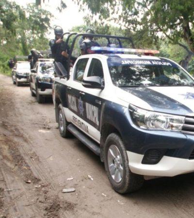 Mantienen operativo para impedir un nuevo intento de invasión en Puerto Morelos