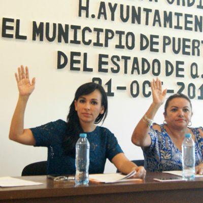 Aprueba Cabildo de Puerto Morelos paquete de disciplina financiera en QR