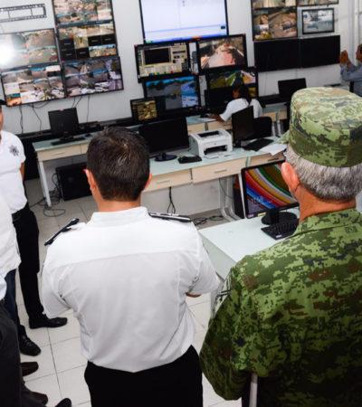 Recorre Remberto el C-2 y dice que se fortalecerá la seguridad de Cancún