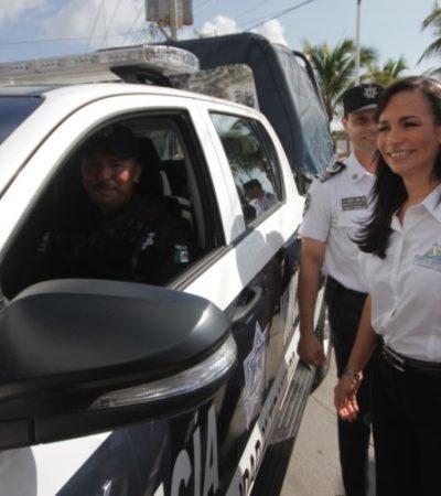 Capacitan a policías de Puerto Morelos; adiestramiento será permanente, dice Alcaldesa