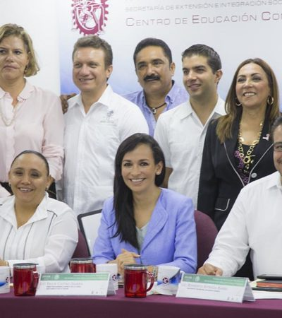 Busca Puerto Morelos participaciones federales más justas: Laura Fernández