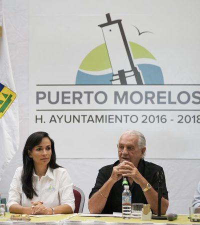 Ofrece Puerto Morelos certeza a inversionistas, asegura Laura Fernández en reunión con hoteleros