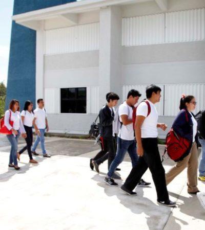 Impulsan apertura de una unidad de la Universidad Tecnológica en Puerto Morelos