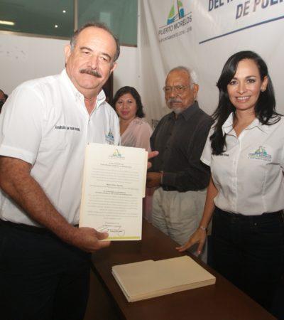 Dan nuevos cargos a funcionarios en Puerto Morelos