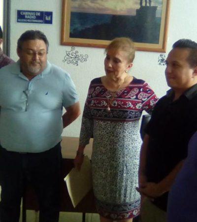 Confirman a Haide Serrano al frente de la Vocería de QR y nombran a Javier Vite como subdirector de radio del SQCS