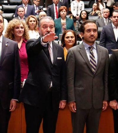 Rinde protesta Raúl Cervantes como nuevo titular de la PGR