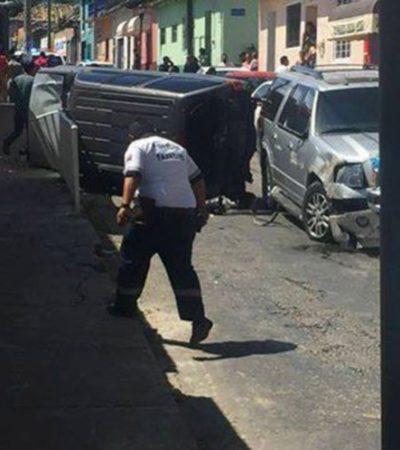 Reportan presunto intento de asalto a camioneta blindada de diputado priista de Chiapas