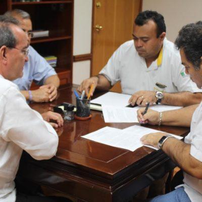 APLACAN DISPUTA DE TAXISTAS EN CHETUMAL: Firman 'pacto de civilidad' para terminar conflicto por la dirigencia del Suchaa y Sergio Cetina queda al frente