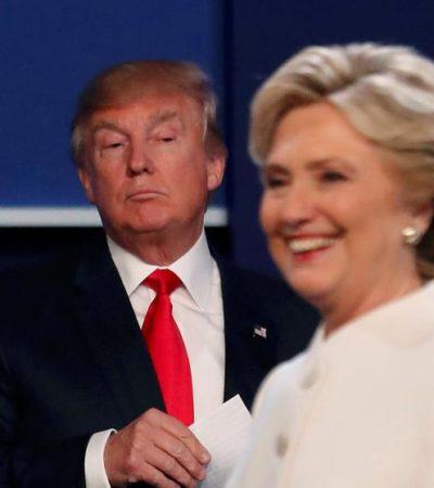 En su último debate, Trump se niega a decir si aceptará el resultado electoral ante Hillary y EU se escandaliza