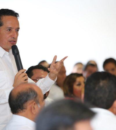 """Asegura Carlos Joaquín que """"habrá más y mejores empleos"""" para el sur de Quintana Roo"""