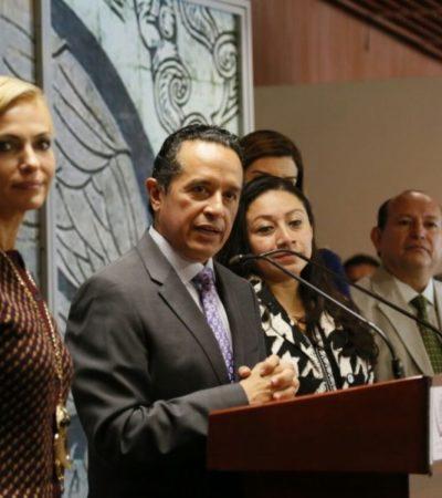 BUSCA CARLOS 6 MIL MDP PARA OBRAS: Viaja Gobernador a la  CDMX y logra apoyo de diputados federales de todas las fracciones
