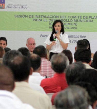Realizarán 3 foros ciudadanos para el Plan Municipal de Desarrollo de Puerto Morelos