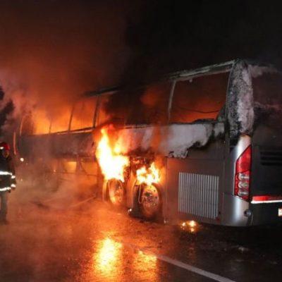 """""""GOLPEABAN LOS VIDRIOS QUERIENDO SALVARSE"""": Relatan la dramática muerte de 13 pasajeros del autobús de ADO accidentado en Veracruz"""
