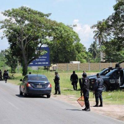 """""""¡VENGAN A APOYARME… ME QUISIERON PARTIR LA MA…"""": Intentan ejecutar a jefe policiaco en Paraíso, Tabasco"""