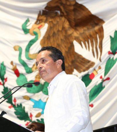 """ENTIERRA CARLOS AL BORGISMO MÁS TRASNOCHADO: Redefine Gobernador el 'quintanarroísmo' y arremete contra quienes """"lo saquearon y avasallaron"""""""