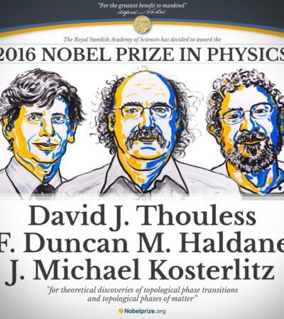 Dan Nobel de Física a 3 británicos por investigación desarrollada en EU sobre la materia más exótica