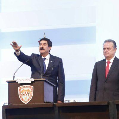ASUME JAVIER CORRAL GUBERNATURA: César Duarte tampoco se presentó a entregar la estafeta en Chihuahua